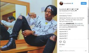 MAVINS POP STAR KOREDE BELLO STUNNED FANS WITH NEW HAIRSTYLE