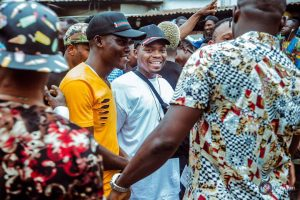 "Olamide's Video Shoot For ""Wo"" In Bariga (Photos)"