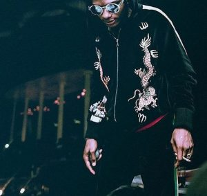 Wizkid Wears N750,000 Gucci Jacket