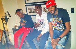 Sound Sultan And 2face Chill With Wizkid In The Studio
