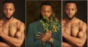 Flavour shows off his body in new Album cover photos captured by TY Bello.