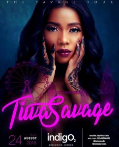 Event – Tiwa Salvage The SAVAGE Tour