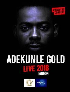 Event – ADEKUNLE GOLD + The 79th ELEMENT #ABOUT30