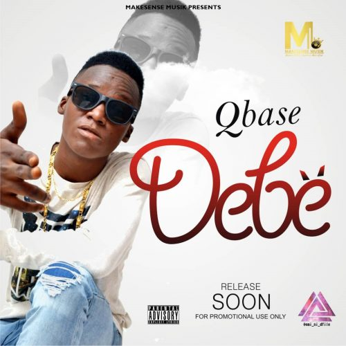 Living The Life crooner and MAKESENSE Musik foremost rap act, QBase, is set to thrill fans again with another hit