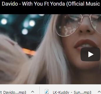 Yonda – With You Ft. Davido