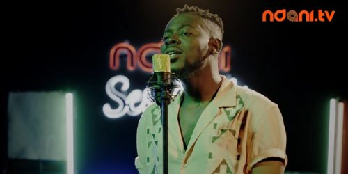 VIDEO: ADEKUNLE GOLD PERFORMS 'DAMN DELILAH' LIVE ON NDANI SESSIONS