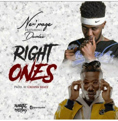 "Nex'page – ""Right Ones"" ft. Davolee"