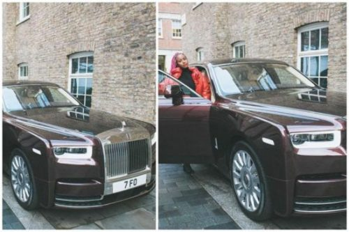 Pictures Of Dj Cuppy's New Rolls Royce; It's Specially-Built!