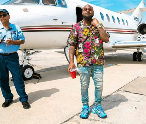 Wizkid My Foot! Davido Tells Fan He Is Africa's Number 1 Artiste