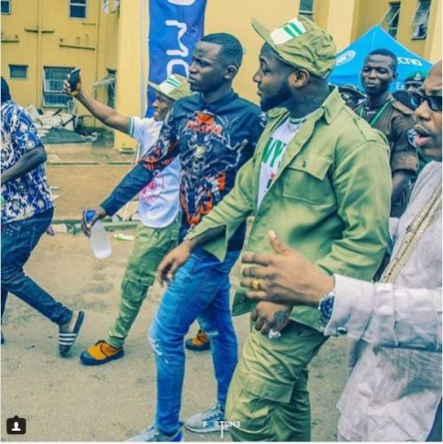 Davido's P.A, Aloma, Sternly Warns SARS To Stay Away From Them