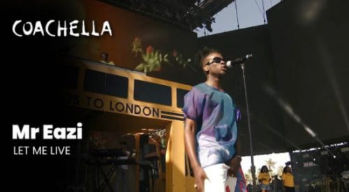 Mr Eazi – Let Me Live My Life (Coachella)