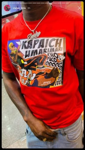 Zlatan  Shades EFCC In New Merch? – See Picture