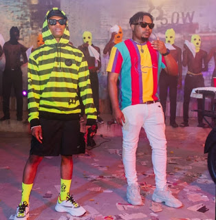Olamide & Wizkid Set To Hit Us With New Music As They Link Up For Video Shoot
