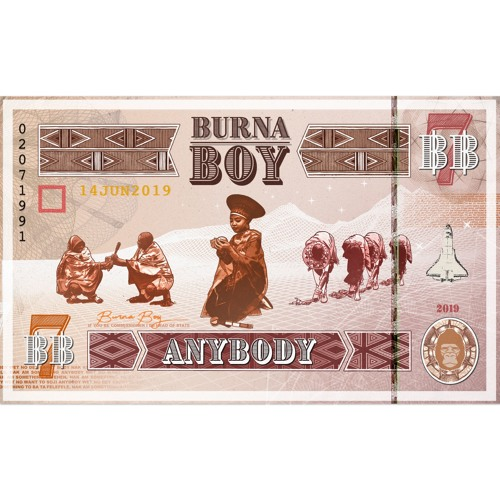 "Music : Burna Boy – ""Anybody"""