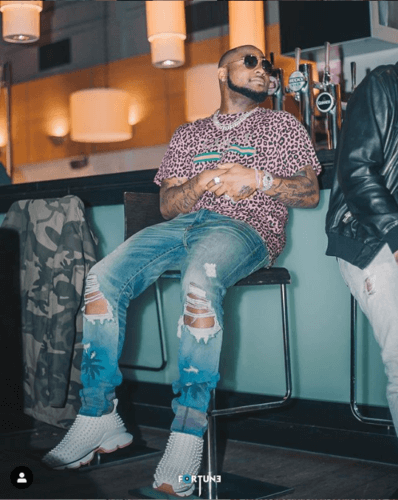 According to Instagram Rich List By Hopper 2019, David Adeleke popularly known as Davido is the 38th highest-earning personality on Instagram earning over 26million for each sponsored post.