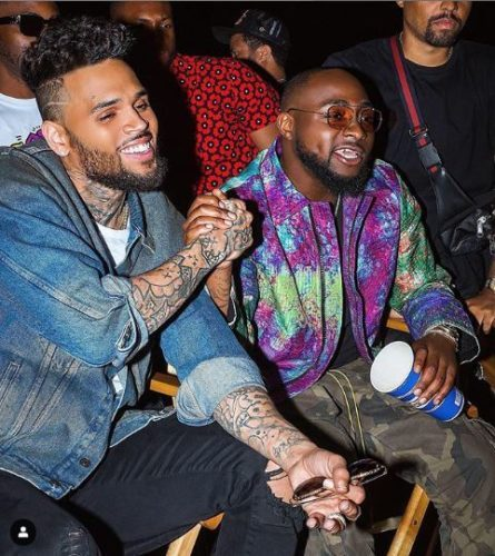 "Video : Davido x Chris Brown – ""Blow My Mind"