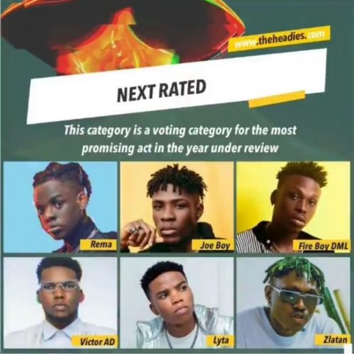 Of These Young Music Stars, Who Do You Think Deserves The HEADIES NEXT RATED Award?