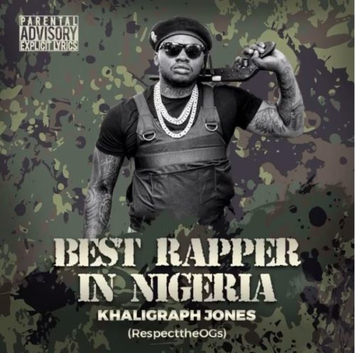 "Kenya Rapper; Khaligraph Jones Drops Diss Track For Blaqbonez & Chocolate City, Declares Himself ""Best Rapper In Nigeria"" 