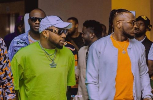"They Can Only Try"" – Davido & Peruzzi Taunt Golden Boy CEO, King Patrick After Court Hearing Today"