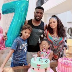 Mr P & Lola Okoye Celebrate Daughter, Aliona As She Turns 7