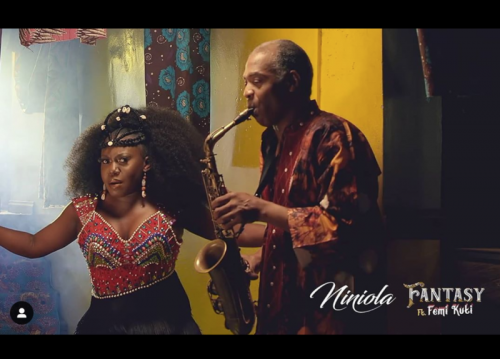 "Video] Niniola – ""Fantasy"" ft. Femi Kuti"
