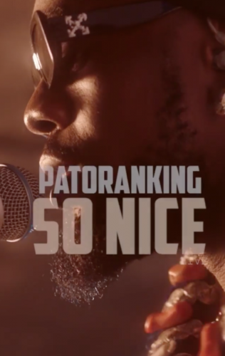 "Music : Patoranking – ""So Nice"" (Acoustic)"