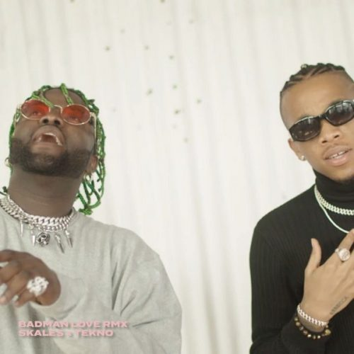 Skales – Badman Love (Remix) ft. Tekno [Video]
