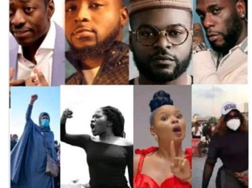 #EndSARS: Court Orders Probe Of Davido, Wizkid, Tiwa and others