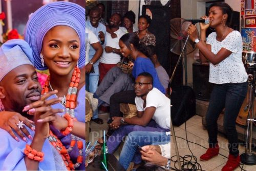 Adekunle Gold Reveals How He Bought New Clothes To See His Wife, Simi For The First Time (Photos)