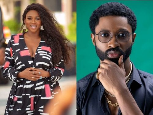 Waje and Ric Hassani Up To? See Them All Loved Up in This Picture