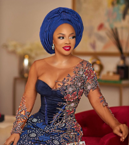 """Wizkid Used To Carry Speakers and Sent To Buy Us Amala"""" – Toke Makinwa"""