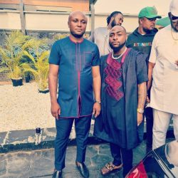 Israel 1, haters 0… Davido has officially lifted his aide, Israel Afeare's suspension. This evening, Davido welcomed Israel back to the DMW crib. He shared a video of Israel DMW showering him with funny praises as usual.  We earlier reported that Davido has forgiven him for commenting on the Hushpuppi-Abba Saga. Though he didn't confirm the news, Israel hopped on Instagram to appreciate everyone who begged Davido on his behalf following his suspension.  Davido suspended Israel after he commented on the Hushpuppi-Abba saga. Israel openly defended Abba after the Federal Bureau of Investigation (FBI) provided evidence that Abba was Hushpuppi accomplice.o Brings Him Back On Board