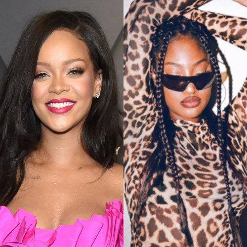 Rihanna 'Over The Moon' As She Meets Tems For The First Time